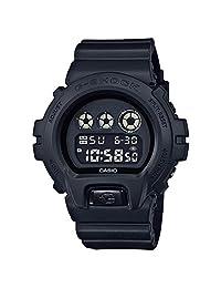 Casio 卡西欧 G-Shock 男士黑色外面基本系列全黑色树脂手表 DW6900BB-1