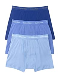 Calvin Klein 男式 經典棉質平角內褲 多條裝