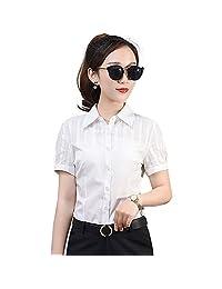 【夏季爆款多款选择】蕾丝衫 喇叭袖雪纺衫女 蝴蝶结衬衫上衣 翻领衬衣