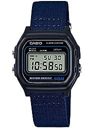CASIO 系列男式数码手表,聚氨酯表带–w-59b