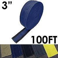 """SafCord 地毯上的电线套 蓝色 3"""" Width x 100FT Length CC-SC-3-100-BL"""