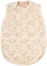 日本Hoppetta 寶寶6層透氣紗布 四季通用睡袋 嬰兒款 (0-3歲)