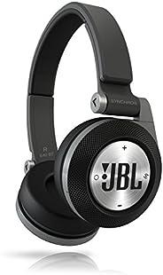 JBL E40BT Black High-Performance Wireless On-Ear Bluetooth Stereo Headphone, Black