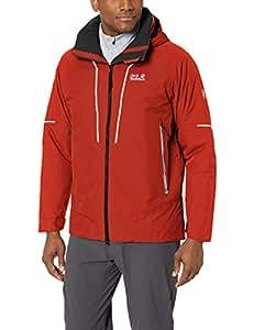 Jack Wolfskin 男式 Escalante Trail 防水保暖夹克 3X-Large 红色 1110731-2049007