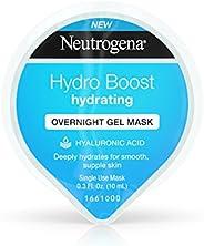 Neutrogena Hydro Boost 保湿晚霜面膜,保湿透明质酸,0.3 液体盎司 盎司
