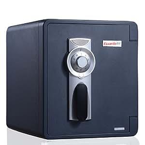 盾牌Guarda保险柜2087C-BD 办公家用保险柜 机械密码锁+锁地功能 美国ul350防火认证 出口欧美20多年
