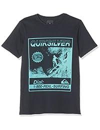 Quiksilver 儿童狗寺庙 T 恤