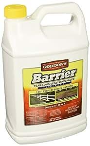 Pbi Gordon 8131072 Barrier Year-Long Vegetation Killer, 1-Gal. Concentrate 1 gal