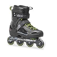 Rollerblade 罗勒布雷德 轮滑鞋 成人街区轮滑鞋 FUSION X3 黑色/绿色 250