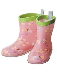 关键 ピチョン 反光条雨靴  フラワーガーデン 15
