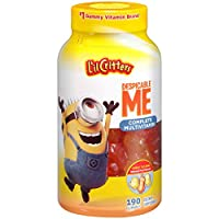 L'il Critters Minions Multivitamin Gummies, 190 Count (Packaging May Vary)