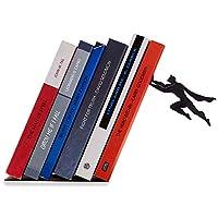 Artori Design 书籍和英雄 黑色金属*英雄书末尾 - 独特的书末,给书籍爱好者的礼物,酷书店拦截器,送给父亲的礼物。