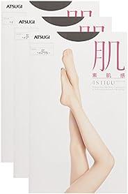 ATSUGI 厚木 肌系列 素肌感 連褲絲襪 3雙套裝 女士