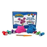 Relevant Play 220-104 建筑大师 魔力沙 迷你挤压机套组 ,粉色/蓝色,283克