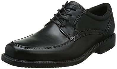 ROCKPORT 乐步 男式 Sl2 Apron Toe系带皮鞋, Black, 11.5 UK
