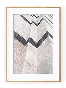 Duomo de Sienne 无框海报 包括白色边框 多种颜色 40x50 12163-C45ABPP