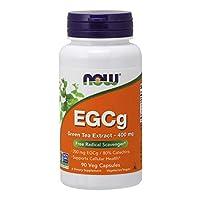 NOW EGCg Green Tea Extract 400 mg,90 Veg Capsules