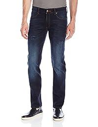 Lee 男式 现代系列修身瘦脚牛仔裤