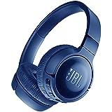JBL TUNE 600BTNC 主动降噪耳机 头戴蓝牙耳机 无线耳机 运动耳机 深沉蓝
