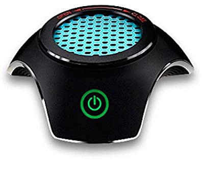CELESTECH CS168 Midnight Black Portable Car Air Purifier (Black)