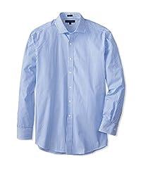 Tommy Hilfiger 汤米·希尔费格 男士棉质修身免烫正装衬衫