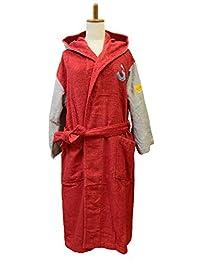 今治毛巾 浴袍 编号颜色 女士 3.红色 MM0801-1250-08