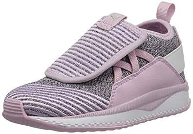 PUMA Tsugi Jun 儿童运动鞋 Winsome Orchid-gray Violet-puma White 4 Toddler