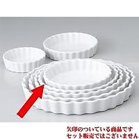 *缸 白圆7寸*管 [18 x 2.8cm] 西餐具 咖啡馆 餐厅 咖啡 业务用 *店