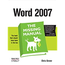 Word 2007: The Missing Manual: The Missing Manual (English Edition)