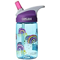 CamelBak Kinder Eddy 儿童水瓶 0.4 升 水瓶 Glitter Rainbows 400 ml - GLITTER R.