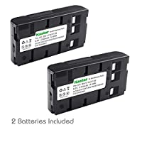 Kastar 2 件装 Ni-MH 电池兼容 JVC BN-V11U BN-V12U BN-V14U BN-V22U BN-V25U Panasonic HHR-V20A/1B HHR-V40A/1B PV-BP15 PV-BP17 VW-VBS2 AKKUVZ8240