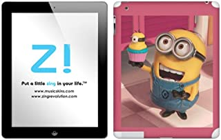 Zing Revolution Despicable Me 2 - Minion Cupcake Tablet Cover Skin for iPad 4/3 (MS-DMT120351)