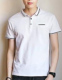 MPSMOVE 思慕夫 2018夏季【纯棉】 休闲男T恤 polo衫男t恤短袖T恤衫男士 KW1172【507】