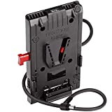 HEDBOX | Unix-DC | V 型电源适配器板,带 1x USB 5V/2.1A和 3X D-Tap 14.8V/148W 电源输出,集成标准 12V/50W 电源输出,通过20in/50cm 外接电缆和公头 DC5.5x2.1mm 插头