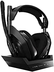 ASTRO Gaming A50 无线耳机 + * 4 代杜比音频基站,兼容 PS4、PC、Mac939-001676 A50 for PS4