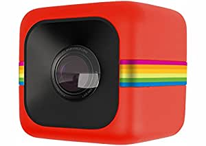 Polaroid 宝丽来 Cube 影立方运动摄像机红色(600万像素124度超广视角全高清视频超小机身防水设计) 单机版