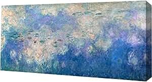 "PrintArt GW-POD-49-2CM011-16x8""水利细节- 云"" Claude Monet 画廊装裱艺术微喷油画艺术印刷品 20"" x 10"" GW-POD-49-2CM011-20x10"