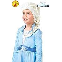 Rubie's 官方迪士尼冰雪奇缘 2,Elsa 假发,儿童花式礼服配饰,均码