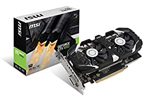 MSI GAMING GeForce GTX 10606GB GDDR5DirectX 12VR Ready ( GeForce GTX 1060GAMING X 6g ) 黑色/银色 2GB