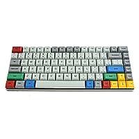Vortexgear 机械键盘 75% - 灰色 CNC 保护套 - PBT DSA 键盘盖 - 樱桃色 Mx-Clear [CNC 铝合金外壳]