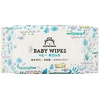 mama bear 兒童濕巾 手部嘴部 純水 99% 60片×20 (1200片) 日本制