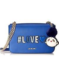Love Moschino 女士 Borsa Pu 手提包,6x18x29厘米