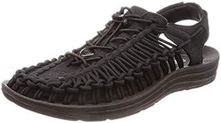 KEEN Men's UNEEK Sandal, Black/Black, 11 M US