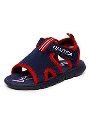 Nautica 诺帝卡儿童运动凉鞋 - 水鞋露趾运动夏季凉鞋(小童/大童)