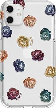 Coach 蔻驰 - Dreamy Peony 苹果iPhone 11 Pro 保护套 - 透明/彩虹/闪光(透明/彩虹/闪光,iPhone 11 Pro 5.8 英寸)