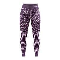 Craft 女士 绿标贴身层 运动内衣 活力系列 适合中高运动强度 温度-5°C到10°C 跑步、滑雪、多运动 贴身长裤 1905336-785000-3