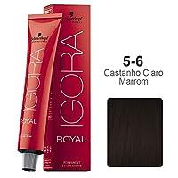 Schwarzkopf Professional Igora Royal Permanent Hair Color, 5-6, Light Brown Chocolate, 60 Gram