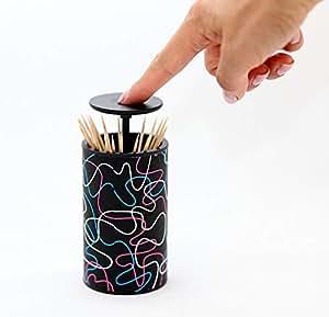 Sqish Toothpick 分发夹时尚设计师现代可伸缩按钮 4 种款式 Winter Wonder unknown