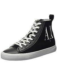 Armani Exchange 女士高帮运动鞋