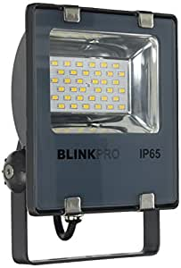 Blink Falcon SMD 20 - LED 投影机,20 瓦,3000 K,IP65,视角 120 °,230 V,灰色